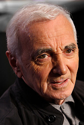 Charles Aznavour poses in Paris, France on October, 2010. Photo by VIM/ABACAPRESS.COM