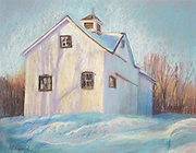 """From the series """"Barns of Putnam County"""", made possible in part from funds from the New York State council of the Arts Decentralization Program."""
