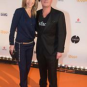 NLD/Amsterdam/20140303 - Uitreiking TV Beelden 2014, Wendy van Dijk en Martijn Krabbe