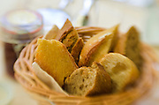 Basket of bread, Paris, France