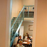Flevoschool Huizen, klaslokaal met 2 verdiepingen