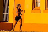 Jogging, Manly Beach, Sydney, New South Wales, Australia
