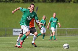 Casper Windfeld (Avarta) under kampen i 2. Division Øst mellem Boldklubben Avarta og FC Helsingør den 19. august 2012 i Espelunden. (Foto: Claus Birch).