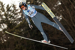 February 7, 2019 - Ljubno, Savinjska, Slovenia - Nita Englund of United States of America competes on qualification day of the FIS Ski Jumping World Cup Ladies Ljubno on February 7, 2019 in Ljubno, Slovenia. (Credit Image: © Rok Rakun/Pacific Press via ZUMA Wire)