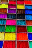 Color powder, Pashupatinath Temple, Bagmati River, Kathmandu Valley, Nepal.
