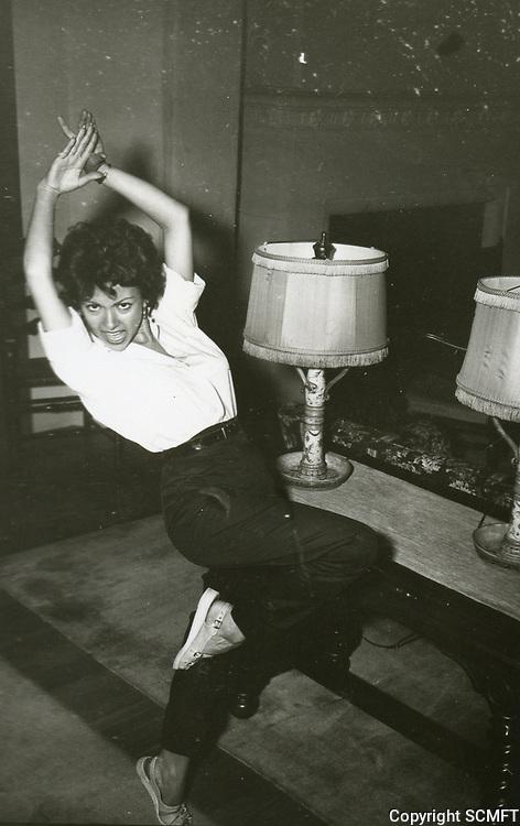 1954 Rita Morino at the Hollywood Studio Club