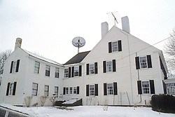 House With Satellite Dish