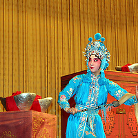 Asia, China, Beijing. Beijing Opera Performance