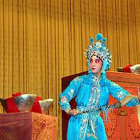 Asia, China, Beijing. Beijing Opera Performance