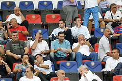 23.07.2015, Stadion Poljud, Split, CRO, UEFA EL, HNK Hajduk Split vs FC Luka Koper, Qualifikation, 2. Runde, Rückspiel, im Bild Ante Kotromanovic, Jako Andabak, Niko Kovac. // during the UEFA Europa League Qualifier, Second round, second Leg match between HNK Hajduk Split and FC Luka Koper at the Stadion Poljud in Split, Croatia on 2015/07/23. EXPA Pictures © 2015, PhotoCredit: EXPA/ Pixsell/ Petar Glebov<br /> <br /> *****ATTENTION - for AUT, SLO, SUI, SWE, ITA, FRA only*****