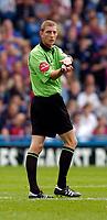 Photo: Alan Crowhurst.<br />Crystal Palace v Preston NE. Coca Cola Championship.<br />24/09/2005. Referee Steve Tanner who sent 2 Preston players off.