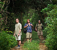 (Left to right) - Dirk, Emmanuel, Guy)