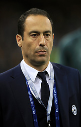 Juventus training check supervisor and fitness coach Duccio Ferrari Bravo before the 2017 Champions League Final held at the National Stadium, Cardiff
