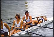 Henley, Great Britain,  Durham UNIVERSITY BC., 1988 Henley Royal Regatta, Henley Reach, River Thames, Annual Event. [Mandatory credit: Peter Spurrier/Intersport Images]