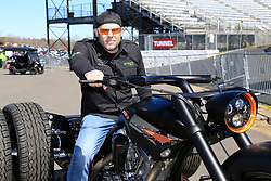 March 23, 2019 - Martinsville, VA, U.S. - MARTINSVILLE, VA - MARCH 23:  Grand Marshal Paul Teutul, Jr. prior to giving the command to the drivers to start their engines for the 21st running of the NASCAR Gander Outdoors Truck Series TruNorth Global 250 race on March 23, 2019 at the Martinsville Speedway in Martinsville, VA.  (Photo by David John Griffin/Icon Sportswire) (Credit Image: © David J. Griffin/Icon SMI via ZUMA Press)