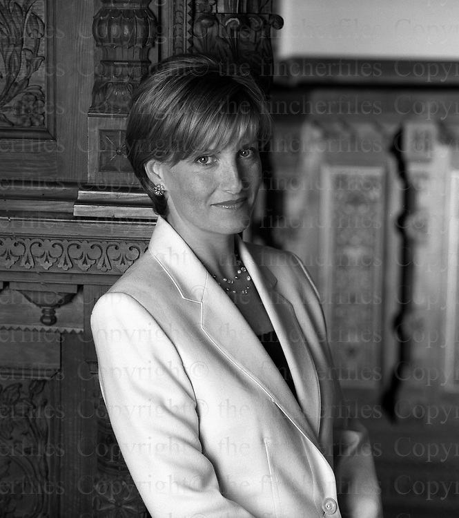 Sophie, The Duchess of Wessex seen at her home Bagshot Park,Surrey in 2001. Exclusive photograph by Jayne Fincher
