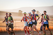 GV. The leading contenters in action during Stage 1 of the Tankwa Trail on Friday the 17th of February 2017. Photo by: Oakpics / Dryland Event Management / SPORTZPICS {dem16gst}