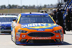 March 3, 2017 - Hampton, Georgia, United States of America - March 03, 2017 - Hampton, Georgia, USA: Ricky Stenhouse Jr. (17) heads out of the garage to practice for the Folds of Honor QuikTrip 500 at Atlanta Motor Speedway in Hampton, Georgia. (Credit Image: © Justin R. Noe Asp Inc/ASP via ZUMA Wire)