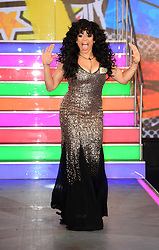 Stacy Francis enters the Celebrity Big Brother house at Elstree Studios in Borehamwood, Herfordshire, during the latest series of the Channel 5 reality TV programme.