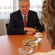Evert van der Roest, nieuwe voorzitter SV Huizen
