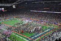 NFL<br /> Super Bowl<br /> 01.02.2015<br /> Foto: imago/Digitalsport<br /> NORWAY ONLY<br /> <br /> Siegesjubel um die New England Patriots nach Spielende - Super Bowl XLIX, Seattle Seahawks vs. New England Patriots, University of Phoenix Stadium, Phoenix<br /> <br /> Victory jubilation to The New England Patriots After Game over Super Bowl  Seattle Seahawks vs New England Patriots University of Phoenix Stage Phoenix