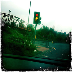 Traffic lights..Hipstamatic images taken on an Apple iPhone..©Michael Schofield.