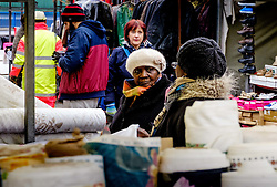 Shoppers at the Bullring Market in Birmingham, England UK<br /> <br /> (c) Andrew Wilson | Edinburgh Elite media
