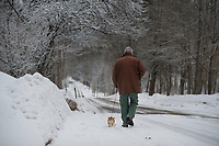Snow Day - picture taking with Alan MacRae.  ©2013 Karen Bobotas Photographer