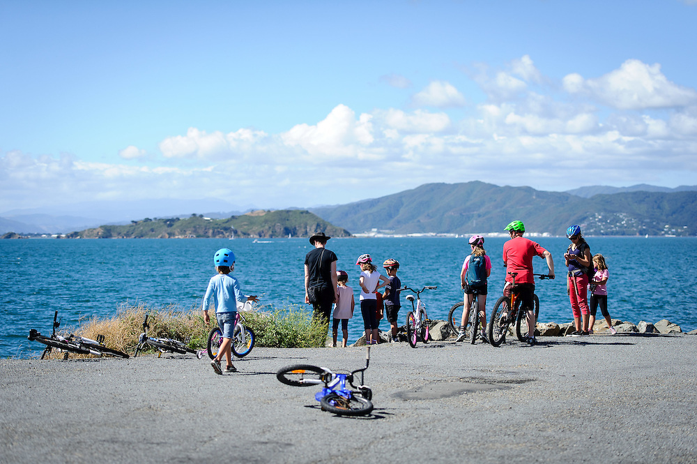 WELLINGTON, NEW ZEALAND - March 08: Ciclovia: Scorching Bay to Shelly Bay. March 08, 2015 in Wellington, New Zealand. REAL PEOPLE. (Photo by Mark Tantrum/ real-people.co.nz)