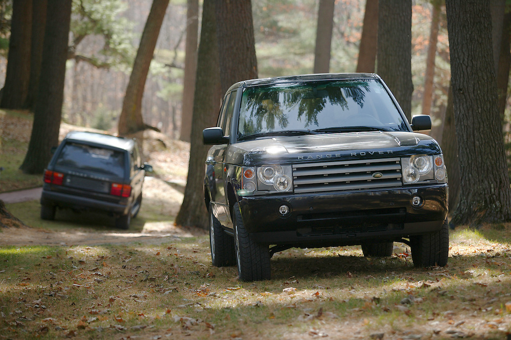 Land Rover Eden Prairie Seven Pines Lodge Event in Fredric, WI.,  on Saturday, October 18, 2003.