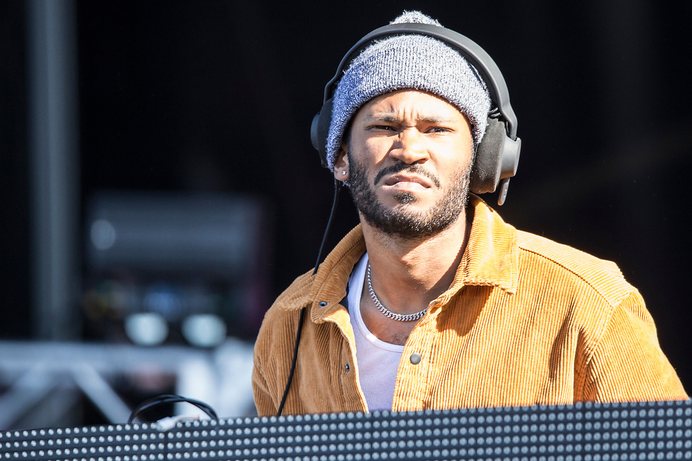 Kaytranada performs at the Something In The Water Festival in Virginia Beach, VA on April 27, 2019.