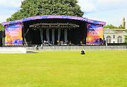 Kew the Music stage summer 2016, at Royal Botanic Gardens, Kew, London, England, UK