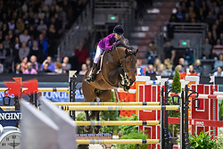 Diniz Luciana, POR, Chacco Blue II<br /> Jumping International de Bordeaux 2020<br /> © Hippo Foto - Dirk Caremans<br />  08/02/2020