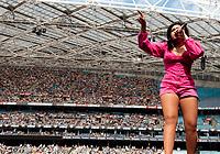Jessica Mauboy at Fire Fight Australia at the  ANZ Stadium Sydney Australa 16 Feb 2020 Photo BY Rhiannon Hopley