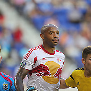 Thierry Henry, New York Red Bulls,  during the New York Red Bulls Vs Columbus Crew, Major League Soccer regular season match at Red Bull Arena, Harrison, New Jersey. USA. 12th July 2014. Photo Tim Clayton