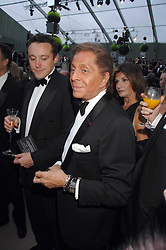 VALENTINO at the Ark 2007 charity gala at Marlborough House, Pall Mall, London SW1 on 11th May 2007.<br /><br />NON EXCLUSIVE - WORLD RIGHTS