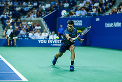 September 5, 2018 - Flushing Meadow, NY, U.S. - FLUSHING MEADOW, NY - SEPTEMBER 05: NOVAK DJOKOVIC (SRB) day ten of the 2018 US Open on September 05, 2018, at Billie Jean King National Tennis Center in Flushing Meadow, NY. (Photo by Chaz Niell/Icon Sportswire) (Credit Image: © Chaz Niell/Icon SMI via ZUMA Press)