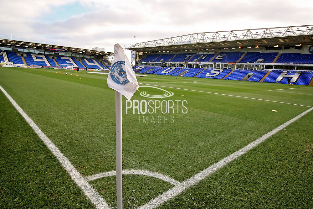 A general view of the stadium  before the EFL Sky Bet League 1 match between Peterborough United and Oxford United at London Road, Peterborough, England on 8 December 2018.