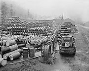 Y-550420A-07 Reimann & McKenney, drum plant, 3000 NW St. Helens Rd, April 20, 1955