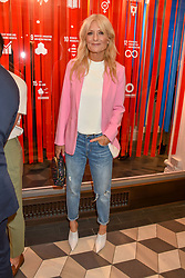 Gaby Roslin at a cocktail supper hosted by BOTTLETOP co-founders Cameron Saul & Oliver Wayman, along with Arizona Muse, Richard Curtis & Livia Firth to launch the #TOGETHERBAND campaign at The Quadrant Arcade on April 24, 2019 in London, England.<br /> <br /> ***For fees please contact us prior to publication***