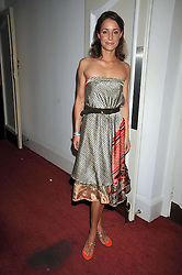 GEORGINA RYLANCE at a special screening of Time Bandits by Terry Gilliam hosted by Faber-Castell and GQ magazine held at The Electric Cinema, 191 Portobello Road, London W11 on 29th June 2009.