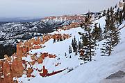 USA, Utah, Bryce Canyon National Park, Bryce Canyon from Ponderosa Point