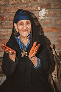 Nefisa Ahmed, 110 years old, give or take a year, at her home in Luxor, Egypt