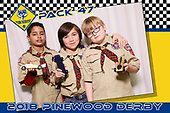 Pinewood Derby 2018 photobooth