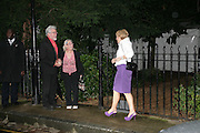 ROLF HARRIS AND ANN ROBINSON, Sir David and Lady Carina Frost annual summer party, Carlyle Sq. London. 5 July 2007  -DO NOT ARCHIVE-© Copyright Photograph by Dafydd Jones. 248 Clapham Rd. London SW9 0PZ. Tel 0207 820 0771. www.dafjones.com.