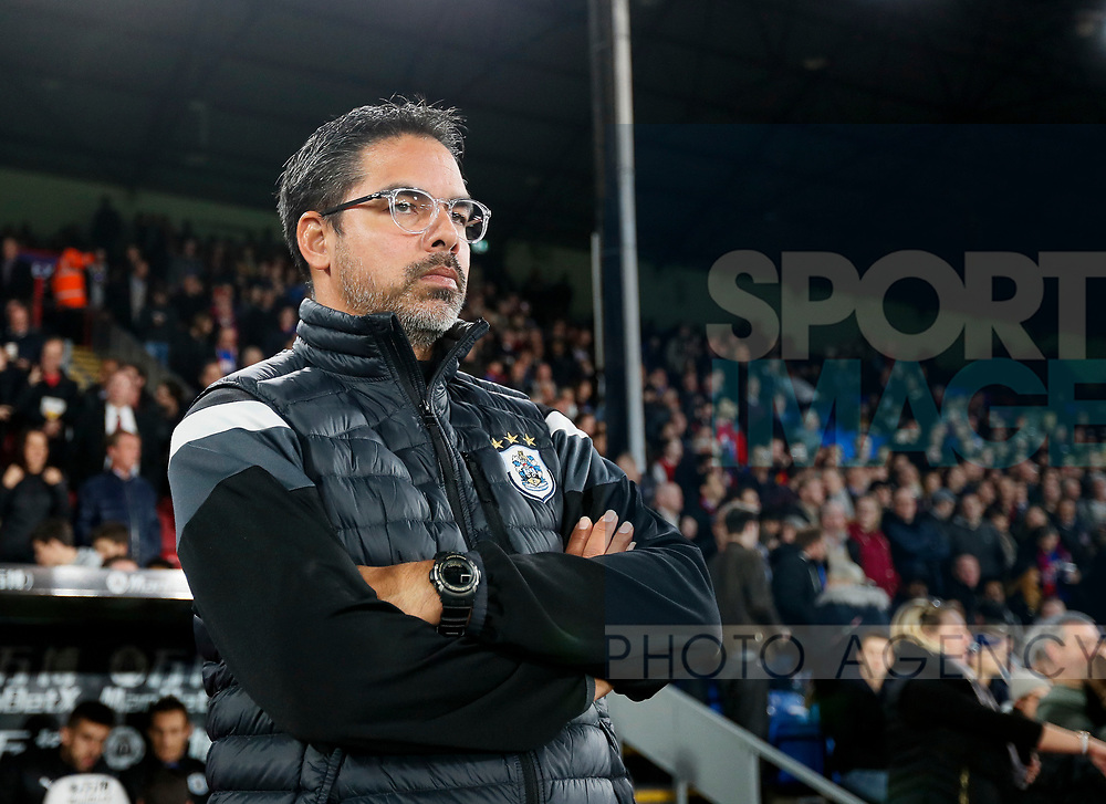 Huddersfield's David Wagner looks on during the Carabao cup match at Selhurst Park Stadium, London. Picture date 19th September 2017. Picture credit should read: David Klein/Sportimage