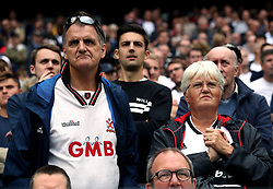 Fulham fans in the stands