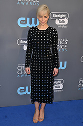 Emilia Clarke at The 23rd Annual Critics' Choice Awards held at the Barker Hangar on January 11, 2018 in Santa Monica, CA, USA (Photo by Sthanlee B. Mirador/Sipa USA)