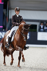 Pauluis Larissa, BEL, First Step Valentin<br /> Longines FEI/WBFSH World Breeding Dressage Championships for Young Horses - Ermelo 2017<br /> © Hippo Foto - Dirk Caremans<br /> 04/08/2017