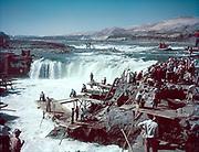 Ackroyd C00084-5. Celilo Falls September 13, 1952